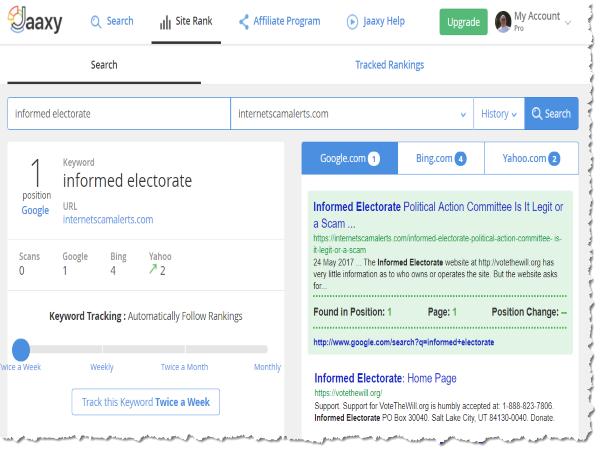 Ranking-information