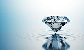 diamond-on-a-pool-water