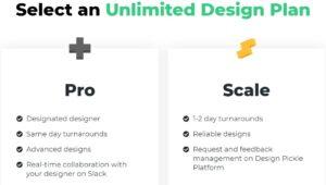 Unlimited-design plans