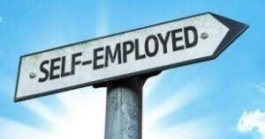 self-employed-arrow-sign